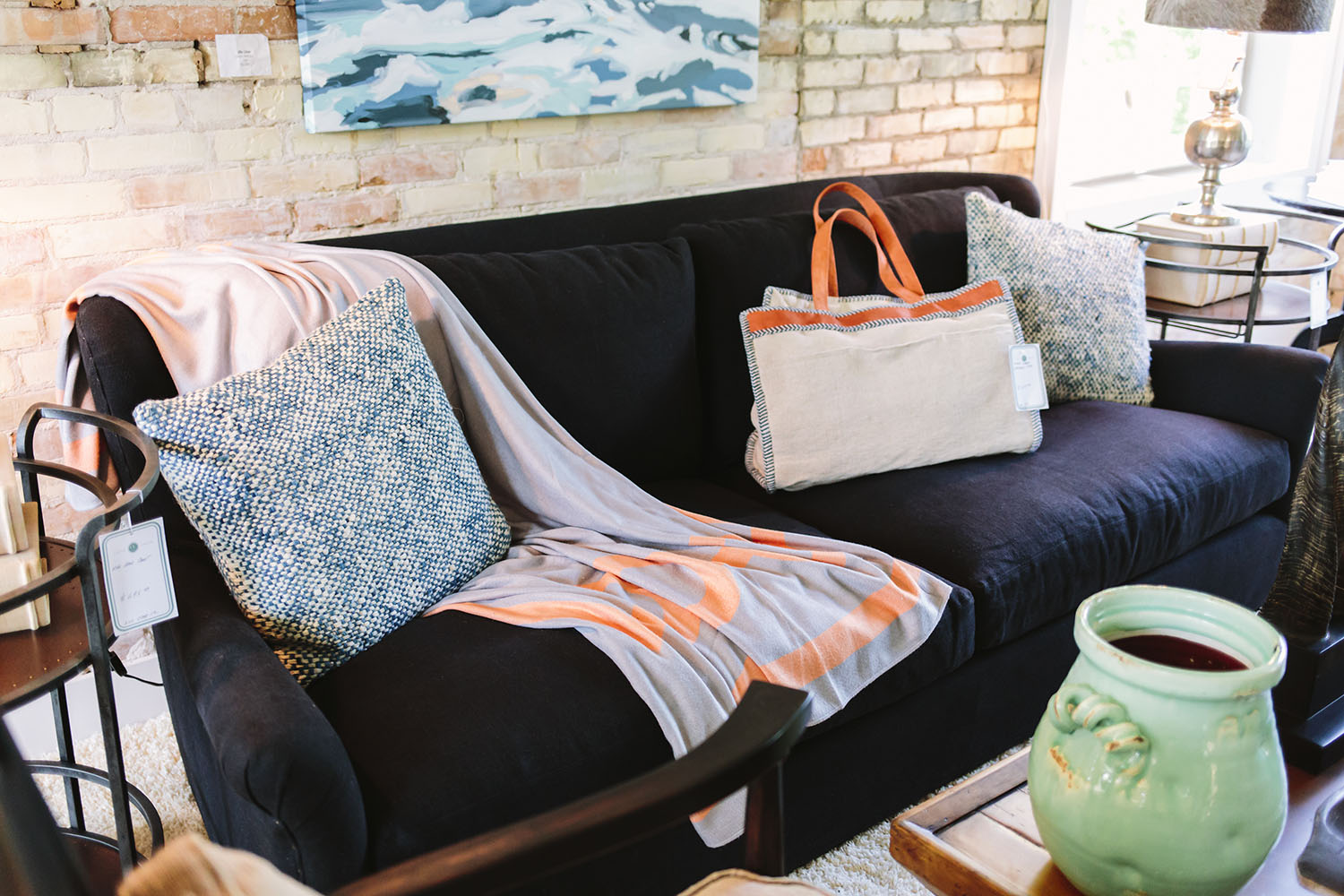 Find current trends at the Cedar Creek Interiors Showroom in Elk Rapids, MI