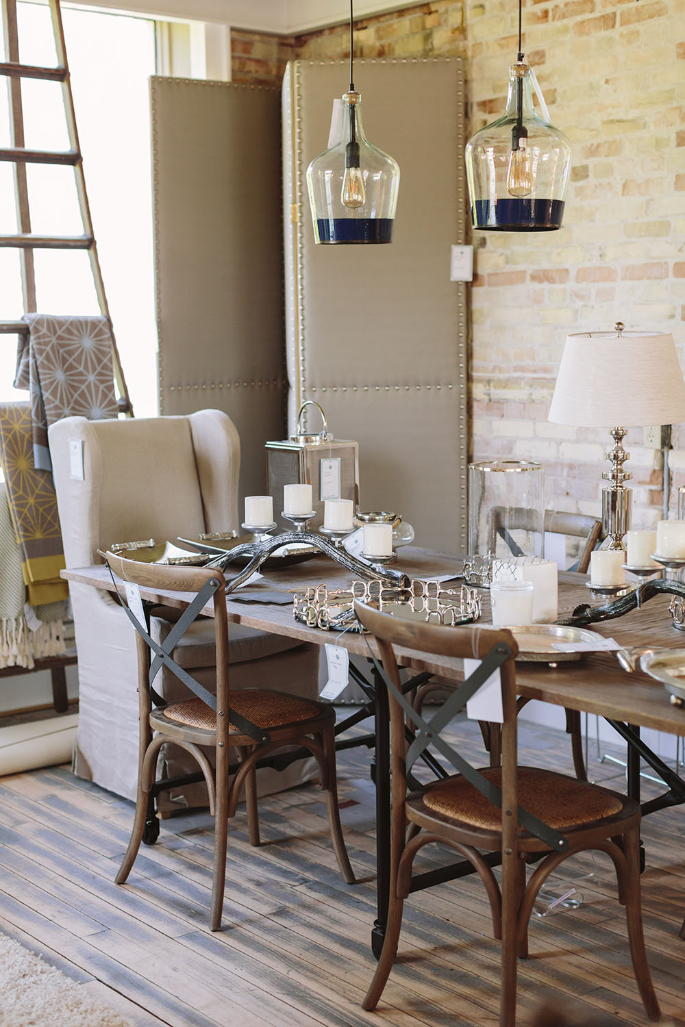 Find unique furniture at the Cedar Creek Interiors Showroom in Elk Rapids, MI